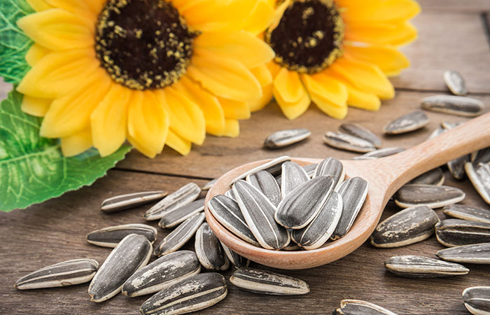 Sunflower Seeds For Strong Nails
