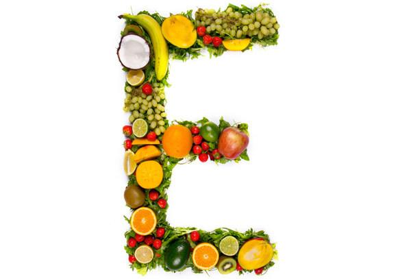 Vitamins E for skin