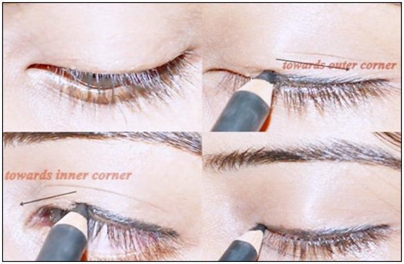 Doğru şekilde kalem eyeliner kullanın
