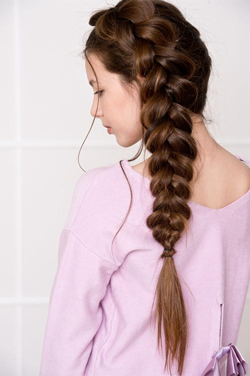 ancaked Side Braid