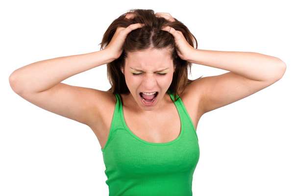 hair loss women stress