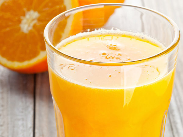 Orange Juice For Strong Nails