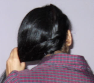 twisted side ponytail hairstyle6