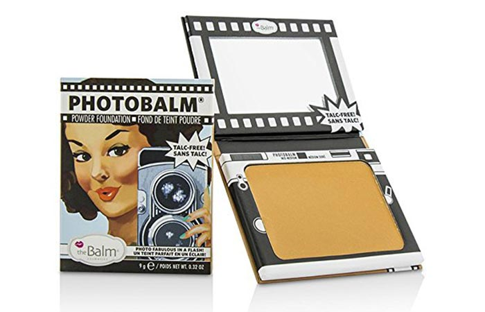 Must Try Foundations For Sensitive Skin - 10. The Balm PhotoBalm Powder Foundation