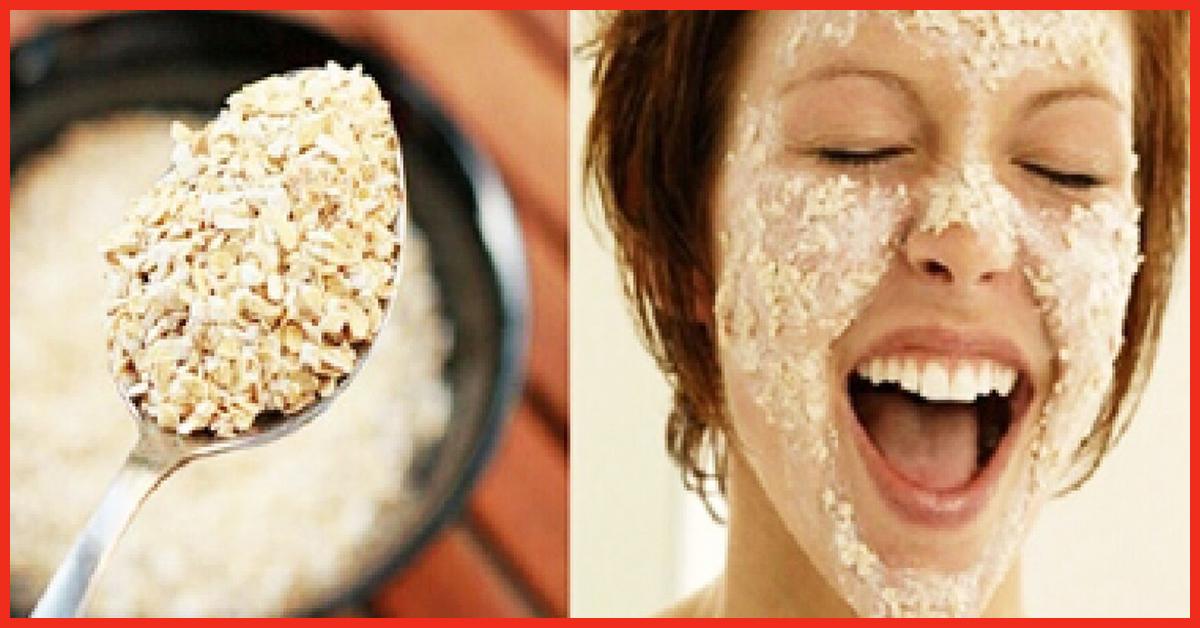 Oatmeal facial benefical