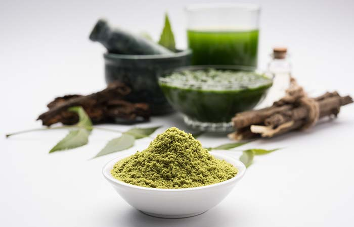 11. Besan And Neem Face Pack