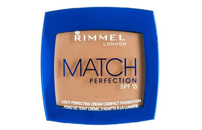Top Rated Foundations For Sensitive Skin - 12. Rimmel Match Perfect Cream Compact Foundation