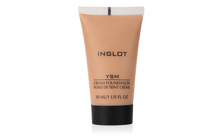 Best Foundations For Sensitive Skin - 13. Inglot Cream Foundation
