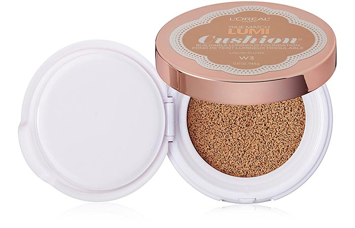 Must Try Foundations For Sensitive Skin - 15. L'Oreal Paris True Match Lumi Cushion Foundation