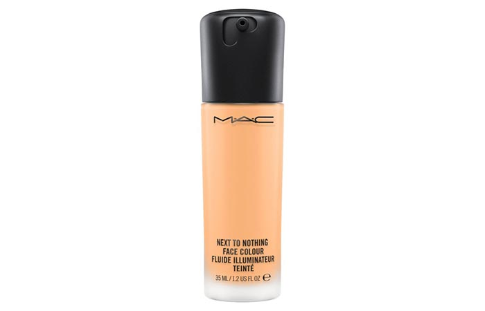 Best Foundations For Sensitive Skin - 3. M.A.C Next To Nothing Face Color Foundation