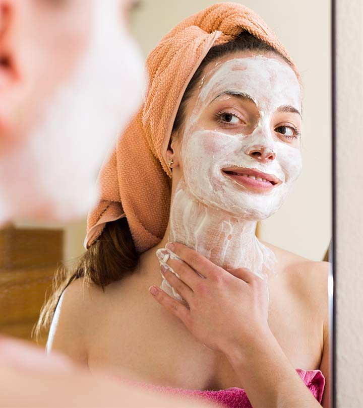 13 Homemade Face Packs For Oily, Acne-Prone Skin With Videos