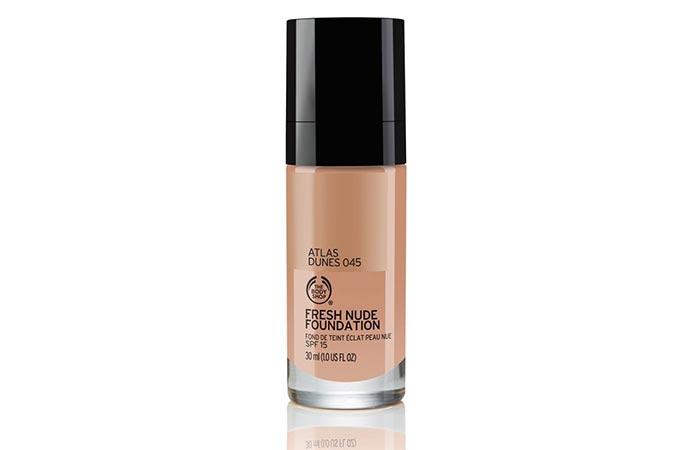 Удивительные Основы Для Чувствительной Кожи - 4. The Body Shop Fresh Nude Foundation