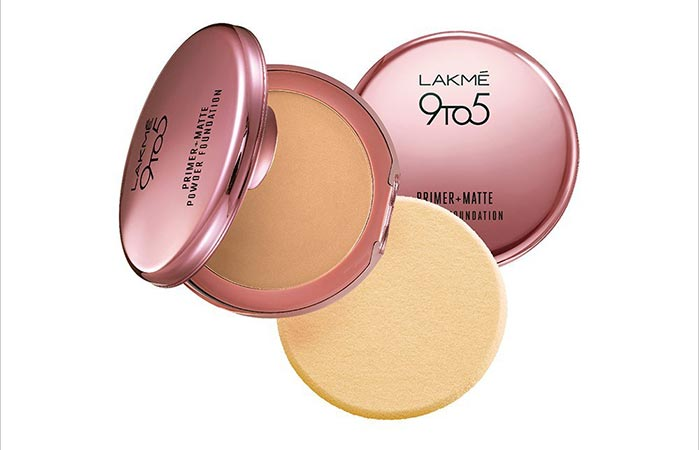 Top Rated Foundations For Sensitive Skin - 7. Lakme 9 To 5 Primer + Matte Powder Foundation