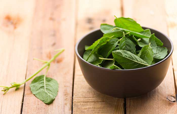 Tulsi And Mint Face Pack