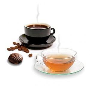 Black tea for hair color