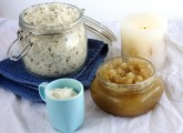 Body scrub recipe at home