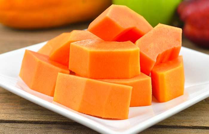 doğal cilt bakımı papaya