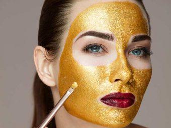 Give Yourself A Gold Facial At Home
