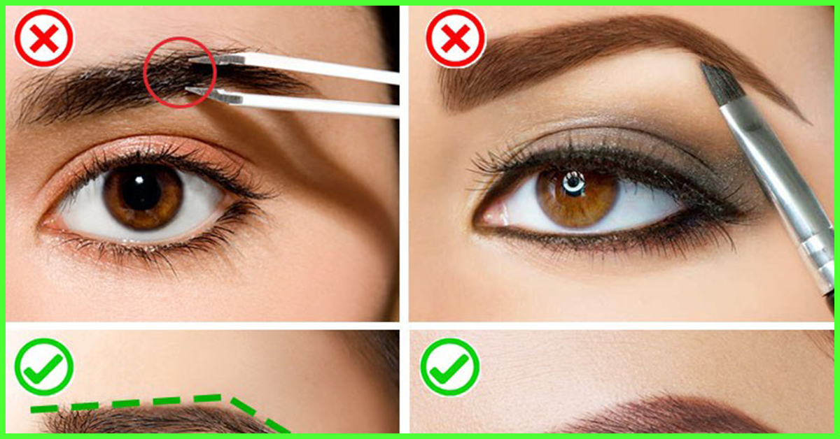 How To Arch Eyebrows Perfectly Step By Step Tutorial