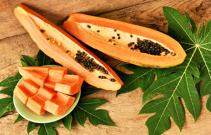 Papaya-And-Oats-Face-Pack