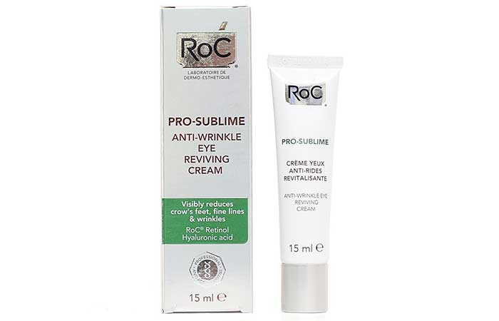 RoC Pro Sublime Anti-Wrinkle Eye Reviving Cream