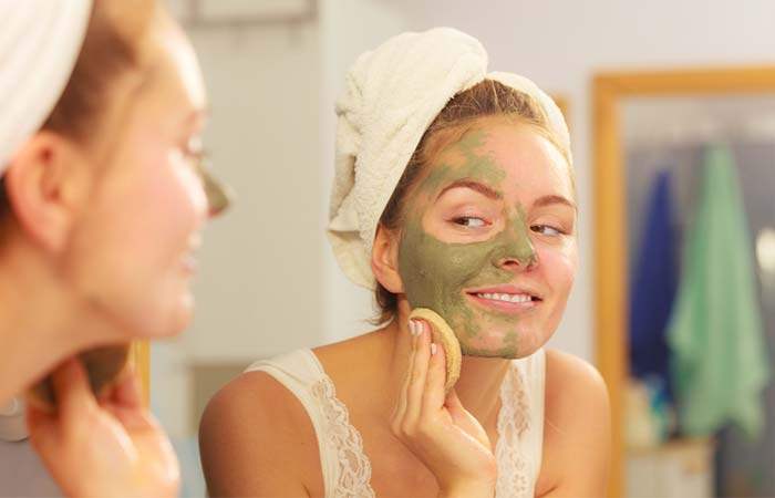 Witch Hazel And Clay Mask