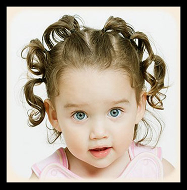 sectioned ponytail hairstyles for school kids