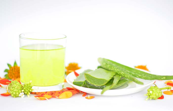 1. Aloe Vera Gel For Facial Scars