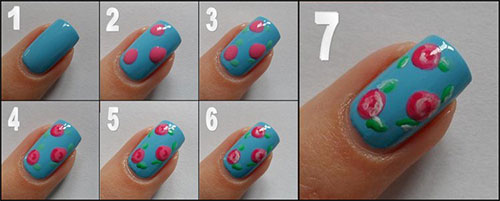 Nail art designs for short nails easy using toothpick best nails top 50 latest and simple nail art designs for ners 2017 prinsesfo Choice Image