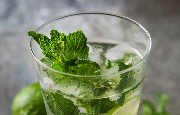 10. Mint Water As A Toner