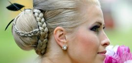 Simple 2 Minute Hairstyle: Princess Braid And Bun