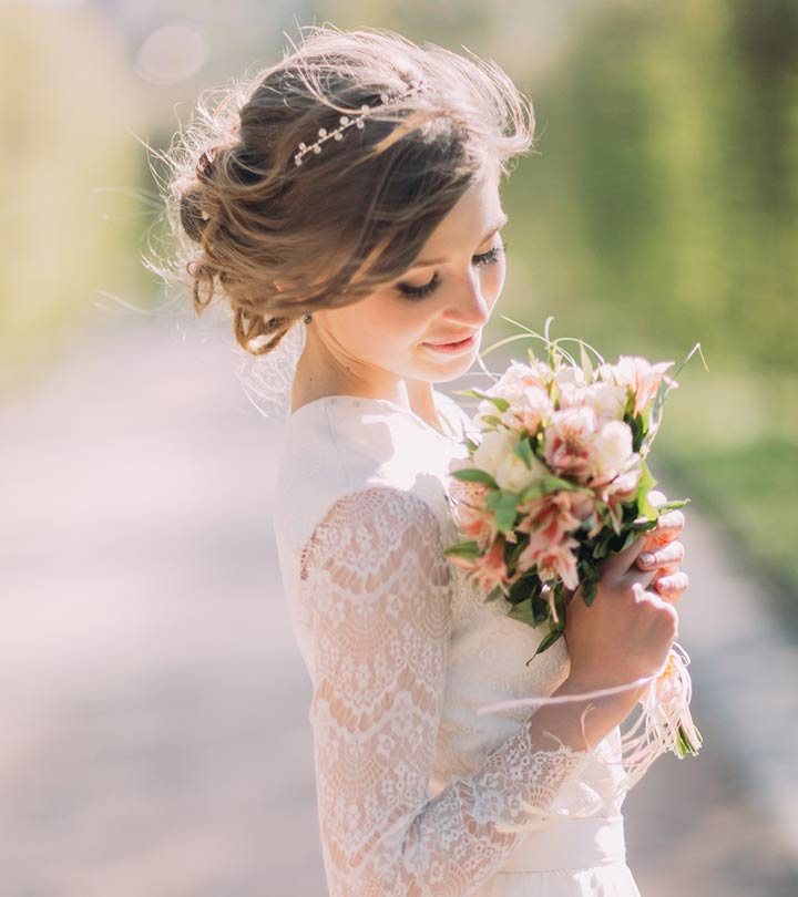 Bridal Hairstyle Tips For Your Wedding Day: 5 Bun Hairstyles For Your Wedding Day