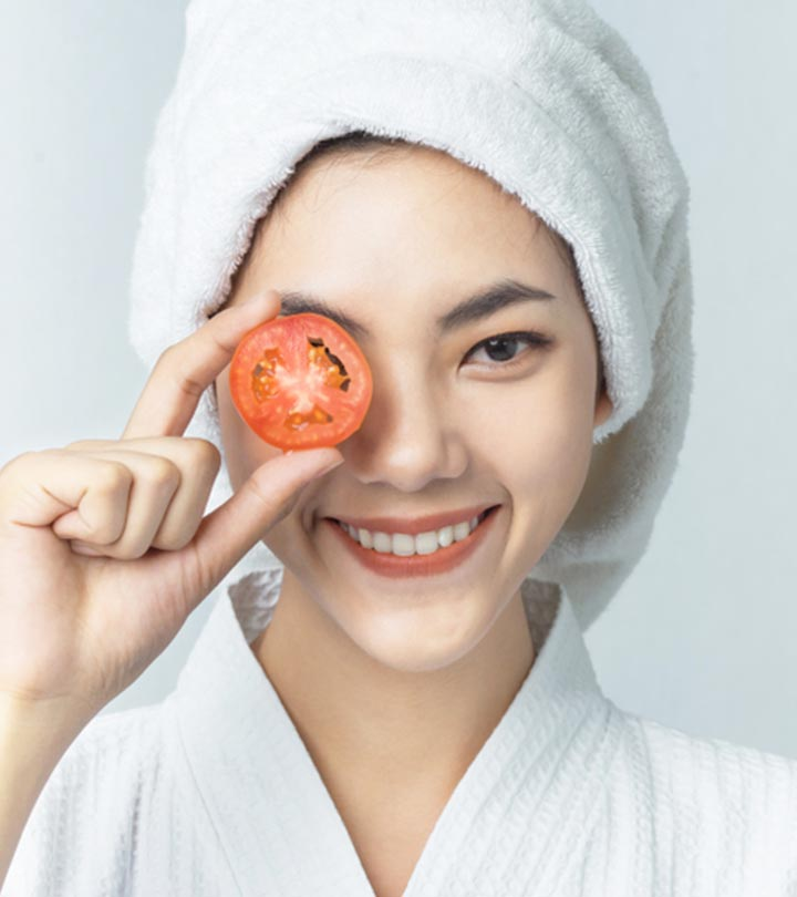 13 Easy DIY Tomato Face Masks For Clear And Radiant Skin