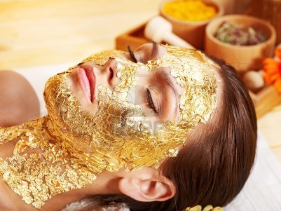 gold facial tips