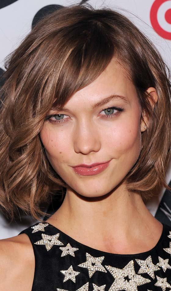 Tousled Flowing Hairstyle for short hair