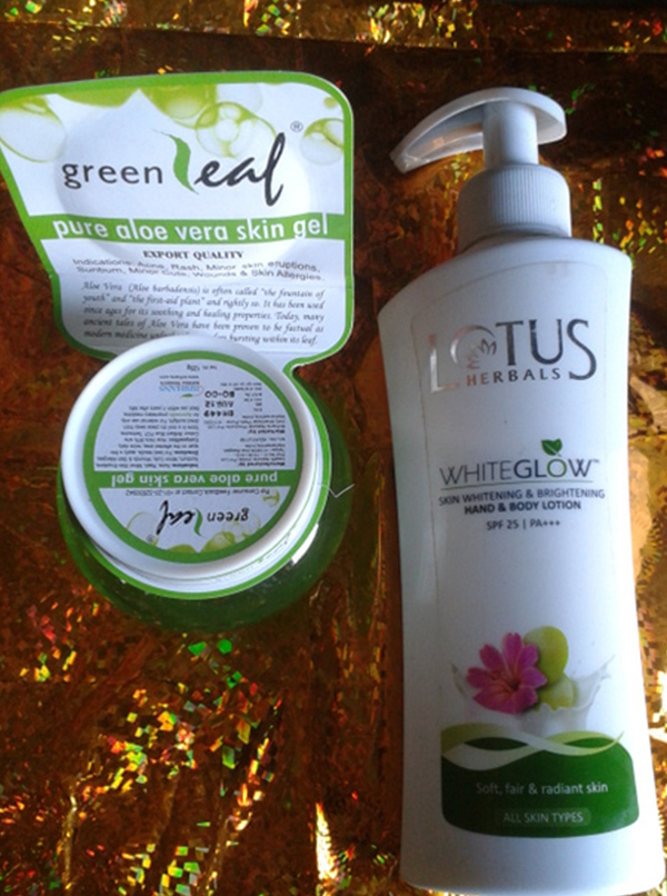 lotus herbals whiteglow products