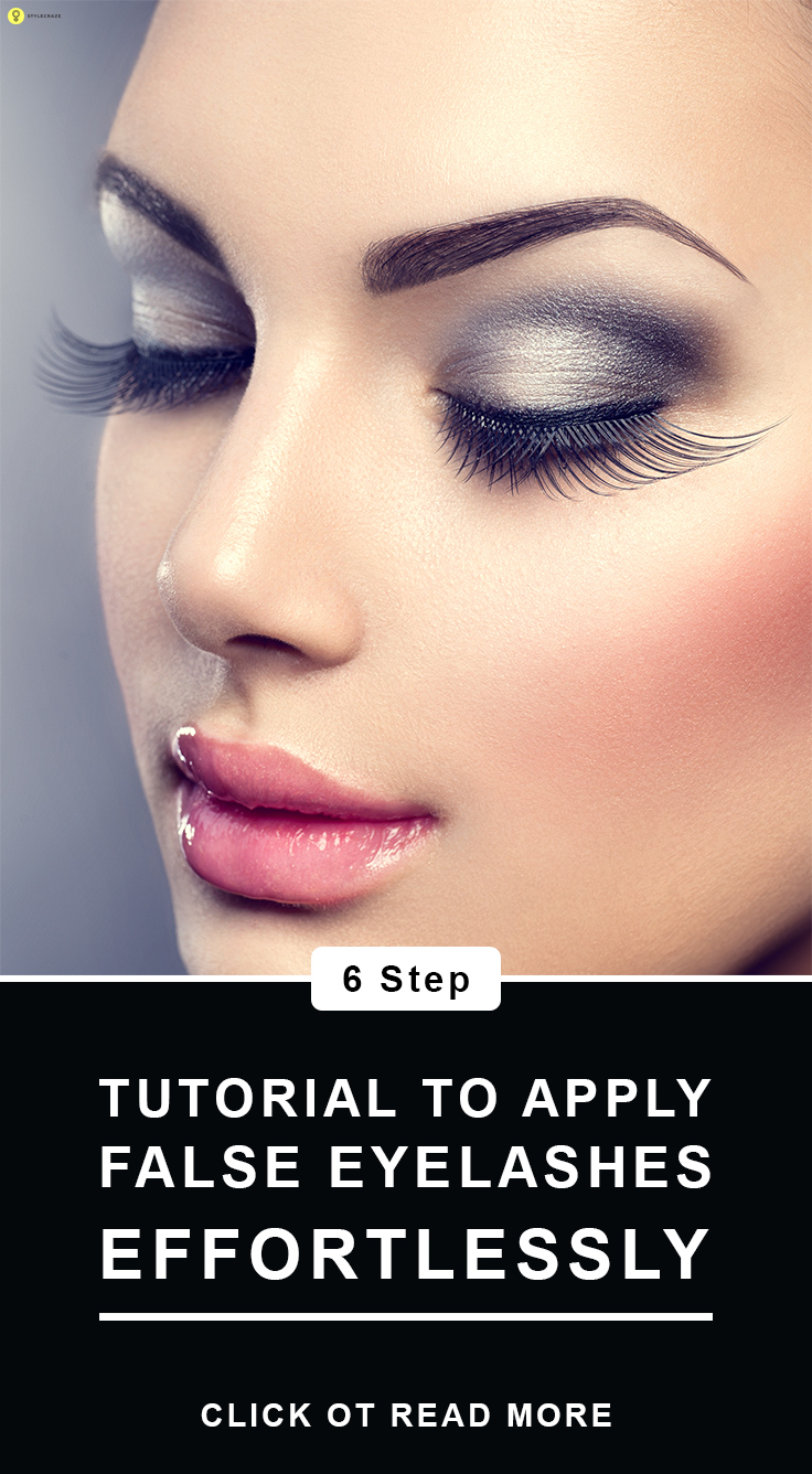 How To Apply False Eyelashes? - Stepwise Tutorial and Tips