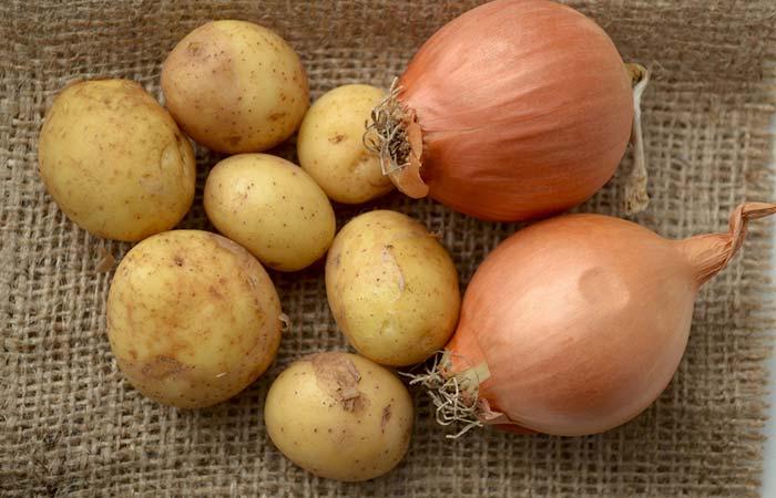 6. Potato And Onion Paste