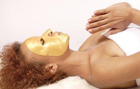 gold facial mask tips