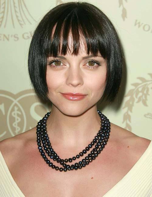 Short Hairstyles For Round Faces - The Flapper Bob