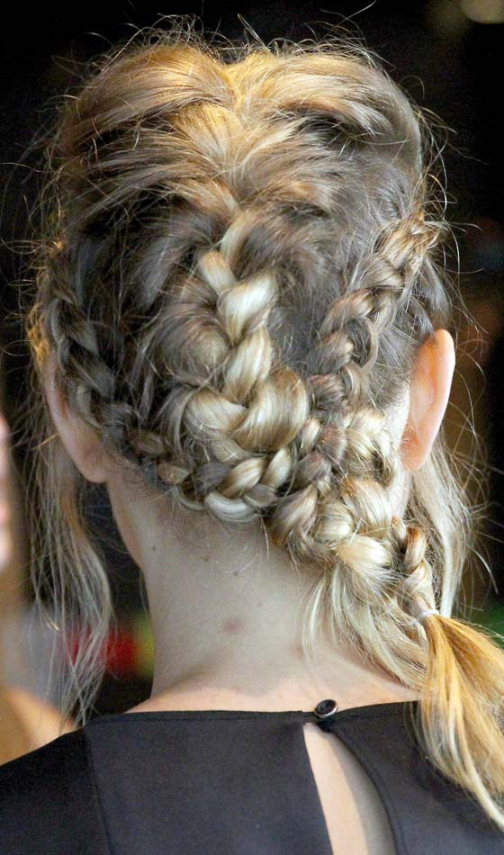 Braid within a braid for kids
