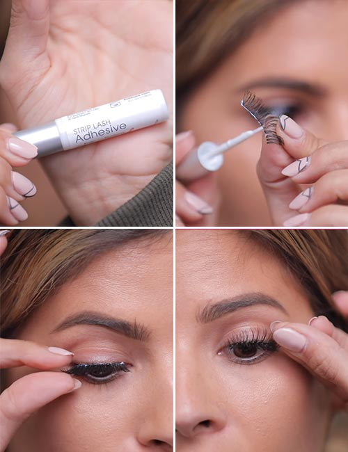 How To Apply False Eyelashes - Apply Your Falsies