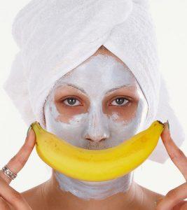 Banana Face Pack For Winter Dry skin