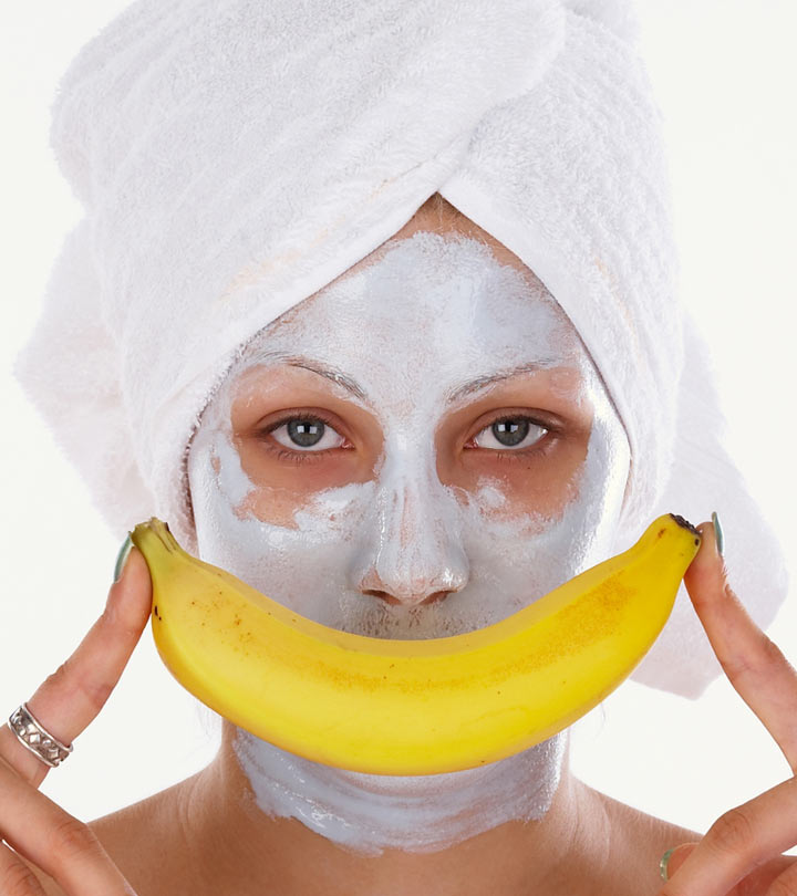 Homemade Banana Face Packs And Face Masks For Dry Skin In Winter