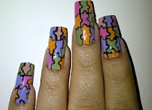 Beauty-Look-For-PAstel-Nail-Art-Design-225x3001