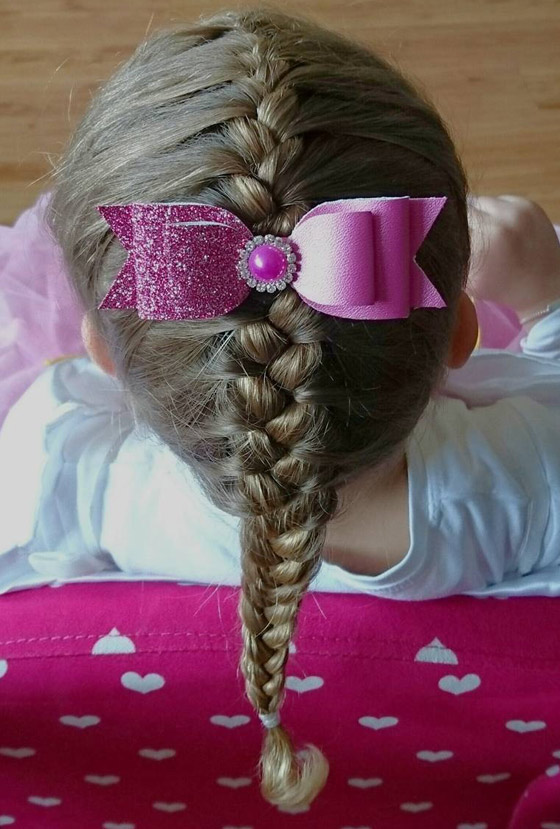 Bow-French-Braid