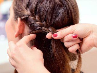 Braided Twister Hairstyle - DIY