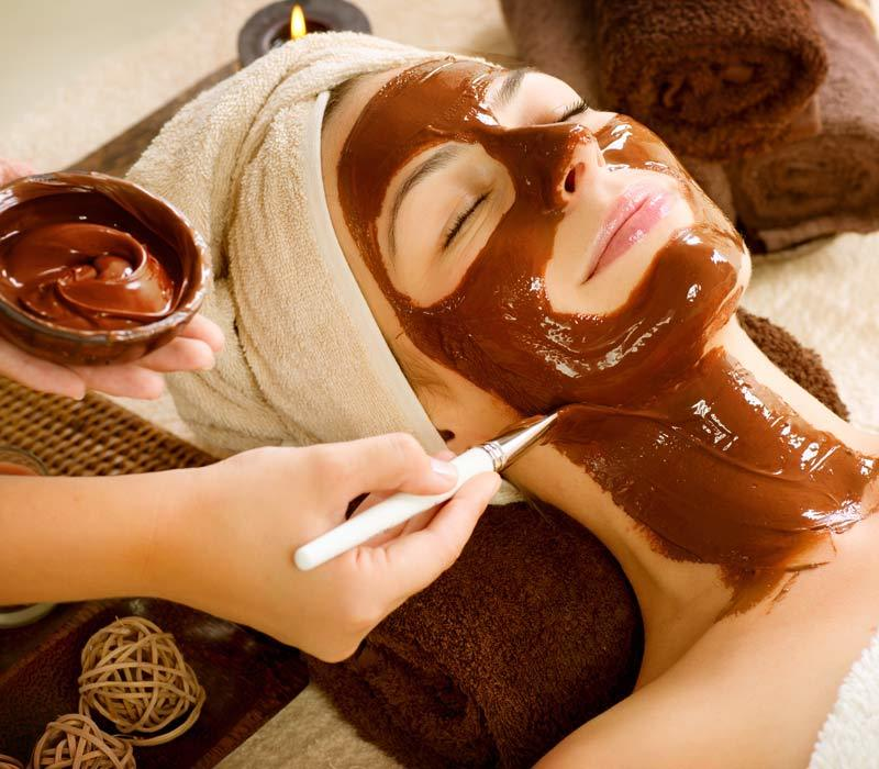 Chocolate face masks for beautiful skin