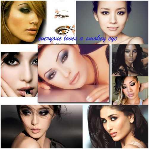 Smokey eye makeup for asian eyes