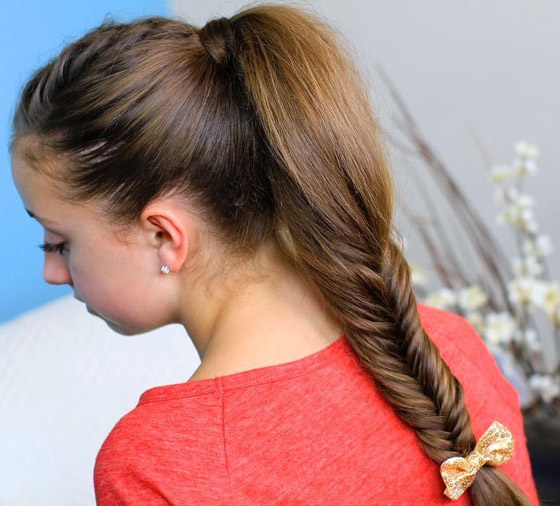 Fluffy-Fishtail-Braid